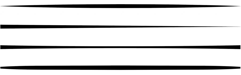 線幅ツールと線幅プロファイルで様々な形の線を描く方法2