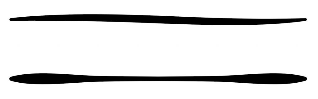 線幅ツールと線幅プロファイルで様々な形の線を描く方法12