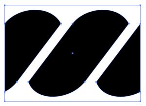 Adobe Illustratorでパターンブラシの両端を作成する方法2