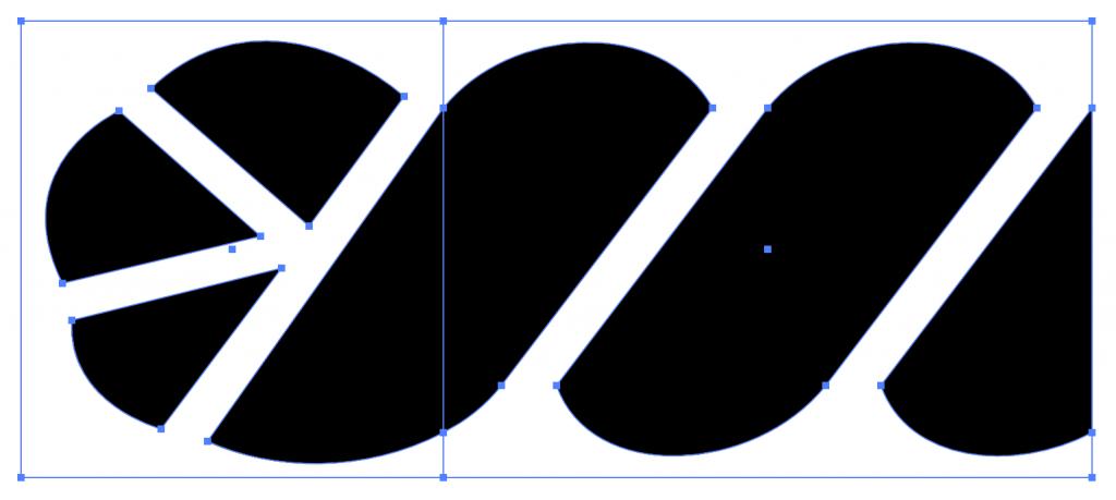 Adobe Illustratorでパターンブラシの両端を作成する方法4