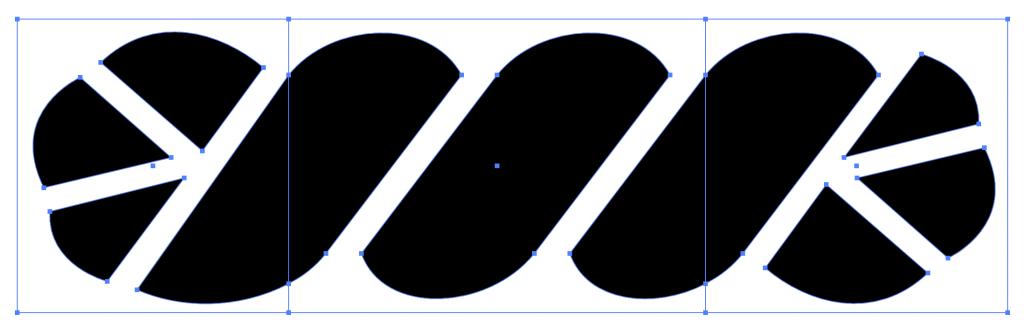 Adobe Illustratorでパターンブラシの両端を作成する方法5