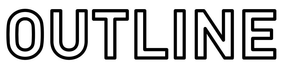 女性誌のデザインのような縁文字