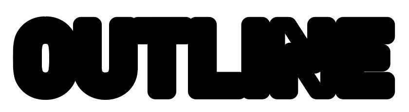 縁文字袋文字