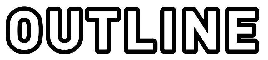 縁文字袋文字の完成
